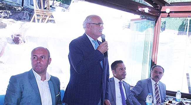 OLİMPİYAT OYUNCULARI KAVAK'A HAYRAN KALDI