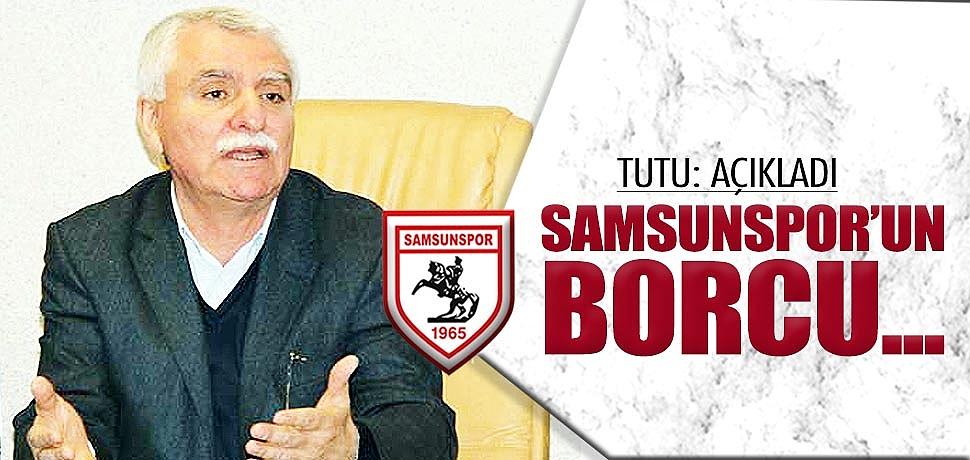 Samsunspor'un borcu 4-5 milyona kadar düştü