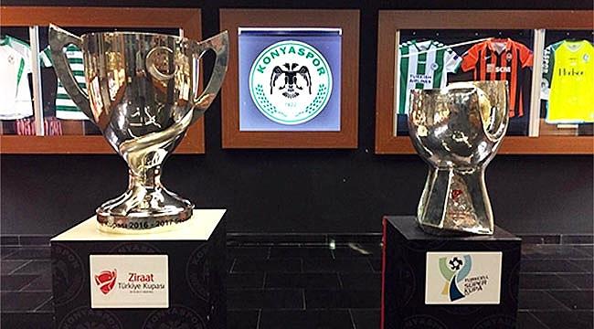 Süper Kupa, Konyaspor müzesindeki yerini aldı