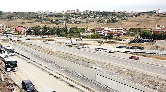 Otogar Kavşağı inşaatında'tapulu arazi' sıkıntısı