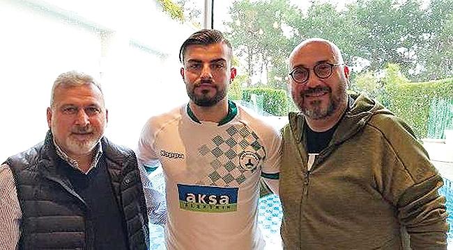 Abdulkerim'in yeni takımı Giresunspor