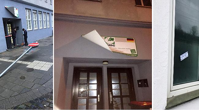 Almanya'da iki camiye çirkin saldırı