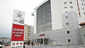 ATAKUM'DA HASTA KABULÜ BAŞLADI