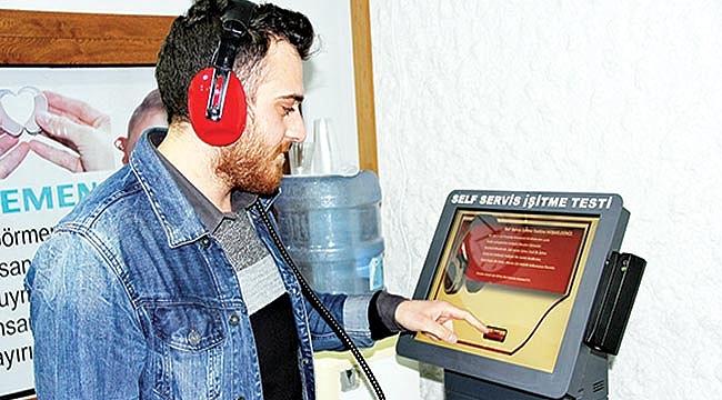 İŞİTME TEST CİHAZINDAN ELDE EDECEĞİ GELİRİ SAMSUNSPOR'A BAĞIŞLAYACAK