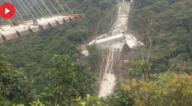 Kolombiya'da dev köprü çöktü: 10 ölü