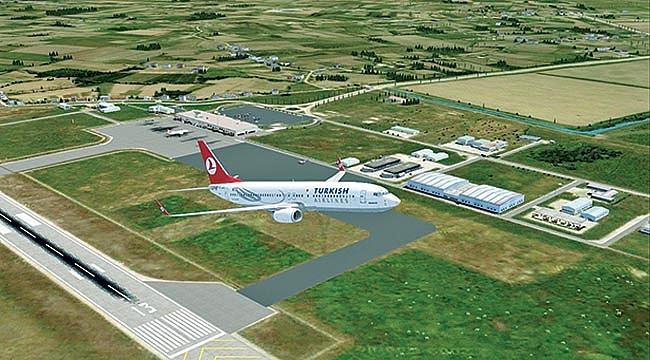 Samsun-Çarşamba Havalimanında yolcu trafiği arttı