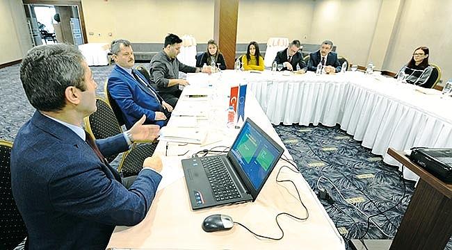 İlçe belediyelerine kapasite geliştirme eğitimi