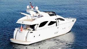 Lüks teknelere yerli alıcı akını