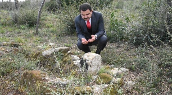 Şehit üsteğmenin mezarı 103 yıl sonra bulundu