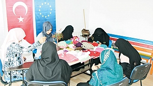 Sığınmacı kadınlarınpsikolojisi düzeliyor