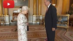 Erdoğan, Kraliçe Elizabeth İle Görüştü