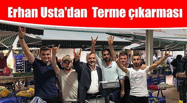 Erhan Usta'dan  Terme çıkarması