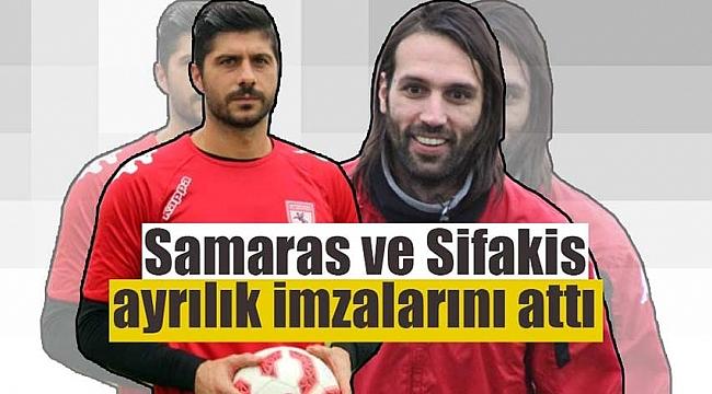 Samaras ve Sifakis ayrılık imzalarını attı