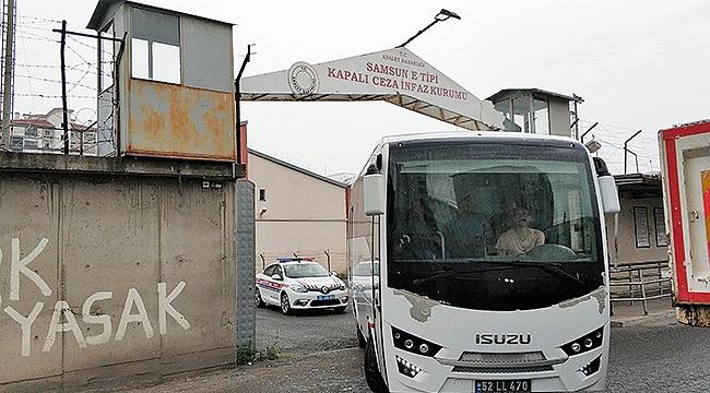 Samsun'da yeni cezaevi için gece operasyonu