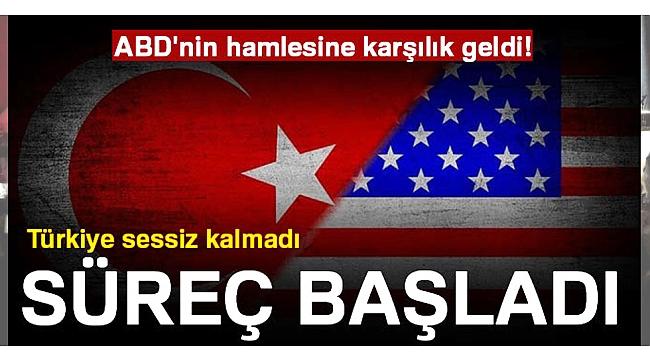 Türkiye'den karşılık