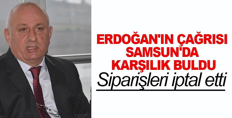 Erdoğan'ın çağrısı Samsun'da karşılık buldu