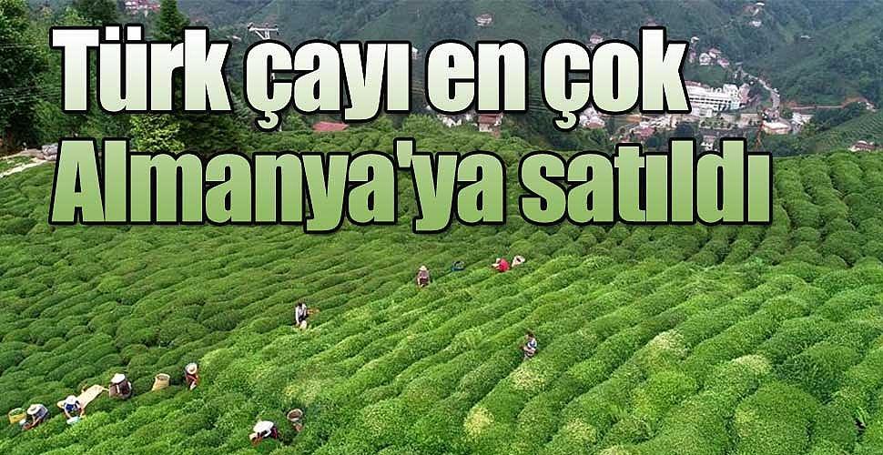 Türk çayı en çok Almanya'ya satıldı