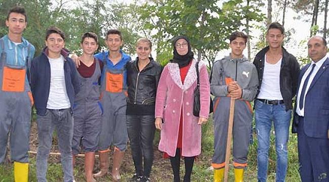 Bafra Tarım Lisesi hedef büyütüyor