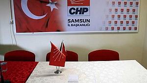 CHP'de basın toplantısı krizi