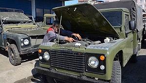 Eski askeri araçlar, Off-Road  yarışları için restore ediliyor