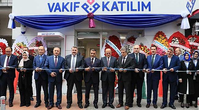 Vakıf Katılım Samsun'da açıldı
