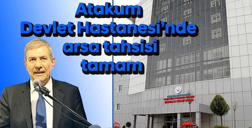 Atakum Devlet Hastanesi'nde arsa tahsisi tamam