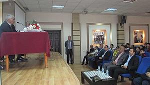 Prof. Dr. Doğan'dan öğrencilere tavsiyeler