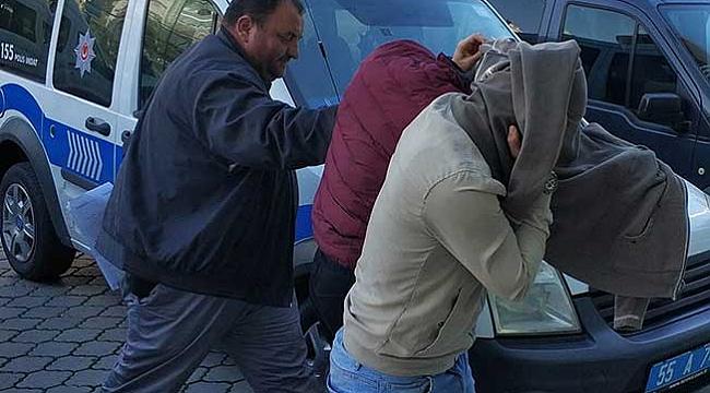 Yazlık evlerden hırsızlık  zanlısı iki kişi tutuklandı