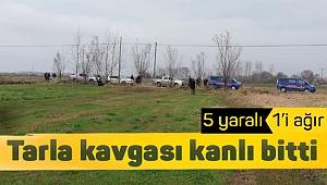 Bafra'da arazi anlaşmazlığı: 5 yaralı