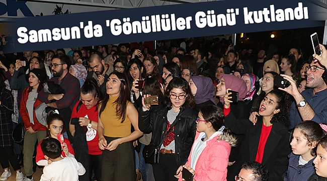 Samsun'da 'Gönüllüler Günü' kutlandı