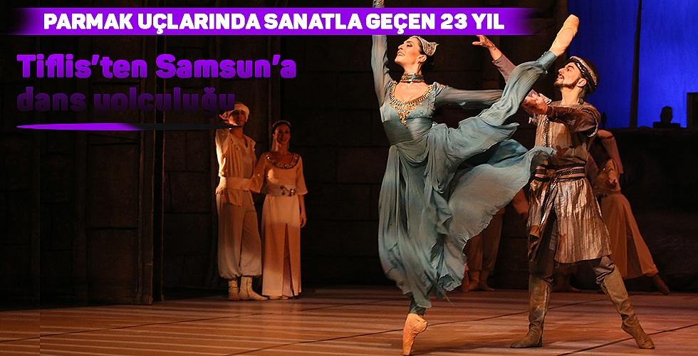 Tiflis'ten Samsun'a dans yolculuğu