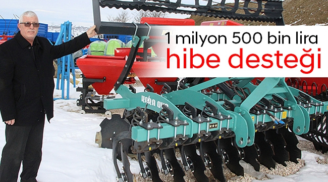 1 milyon 500 bin lira hibe desteği