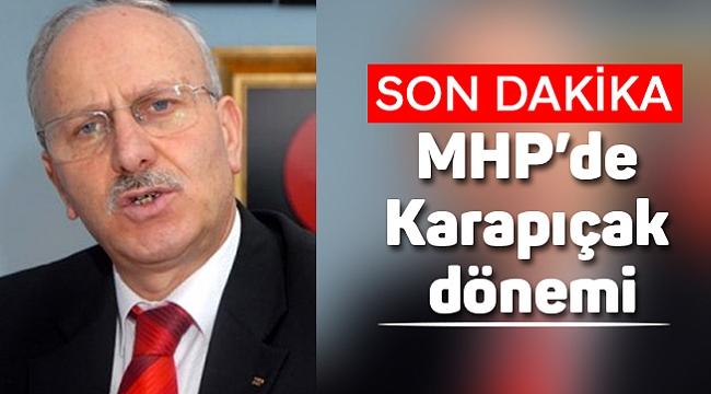 Edis görevden alındı MHP'de Karapıçak dönemi