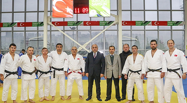 Judo ortak çalışma  kampı Samsun'da