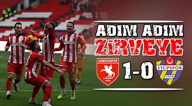 ADIM ADIM ZİRVEYE 1-0