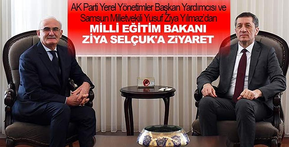 Milletvekili Yılmaz'dan, Milli Eğitim Bakanı Selçuk'a ziyaret