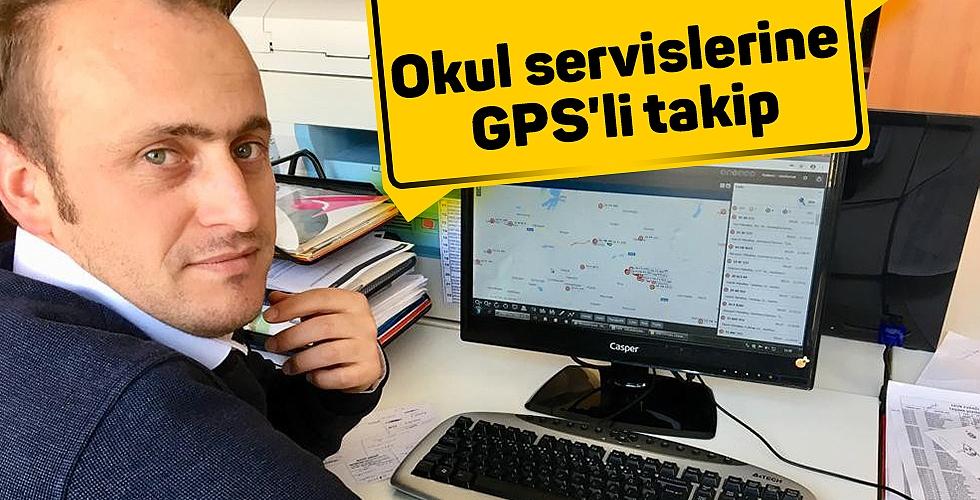 Okul servislerine GPS'li takip