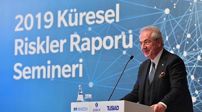 TÜSİAD Başkanı: Tehlike sinyalleri artıyor