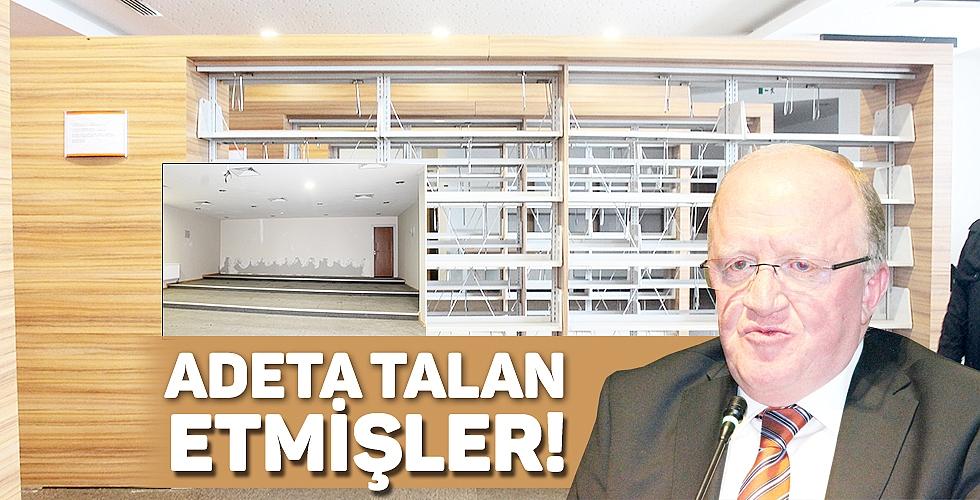 ADETA TALAN ETMİŞLER!