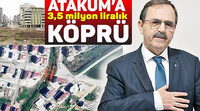 Atakum'a 3,5 milyon liralık köprü