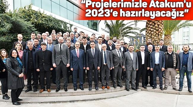 """Başkan Şahin: """"Projelerimizle Atakum'u 2023'e hazırlayacağız"""""""
