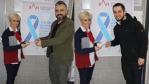 Hastaneden kolon kanserine farkındalık etkinliği