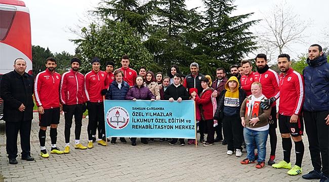 MİNİK KALPLER SAMSUNSPOR'DA