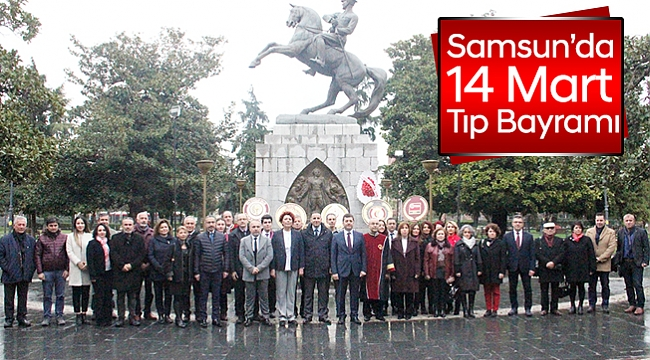 Samsun'da 14 Mart Tıp Bayramı
