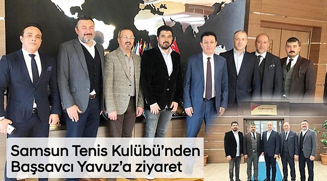 Samsun Tenis Kulübü'nden  Başsavcı Yavuz'a ziyaret