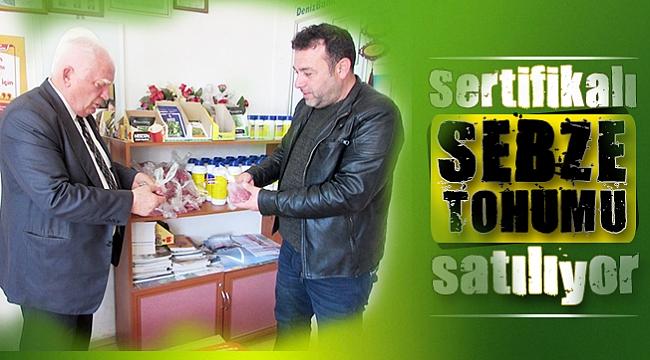 Sertifikalı sebze tohumu satılıyor