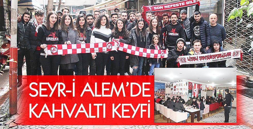 SEYR-İ ALEM'DE KAHVALTI KEYFİ
