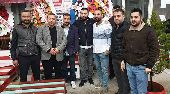 1919 Samsunspor Taraftarlar Derneği açıldı