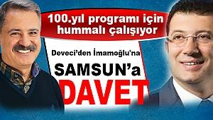 Deveci'den İmamoğlu'na Samsun'a davet