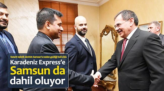 Karadeniz Express'e Samsun da dahil oluyor